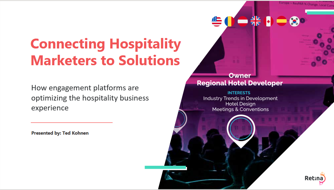Connecting hospitality marketers to solutions featured image first slide